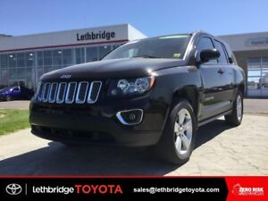 Certified 2015 Jeep Compass High Altitude 4x4 - HEATED LEATHER!