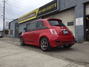 Fiat 500 EXHAUST Modifications & Systems Dual Exhaust Mufflers