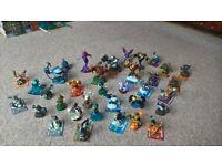 various skylander figures & portals