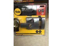 Yale maximum security external lock