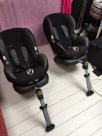 Maxi-Cosi Pearl Child Car Seat approx. 9 months to 4 years Good condition one 2.5 years old