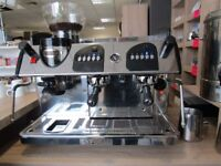 Expobar coffee machine with built in grinder