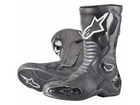 Alpinestars S-MX 5 Boots - Black - Brand New