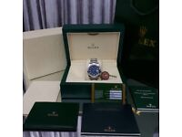 DayeJust Rolex with Box, Bag & Paperwork.