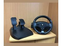 Thrustmaster T80 steering wheel and pedals for PS3 or PS4
