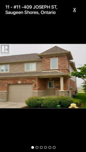 Townhome condo for rent in Port Elgin.