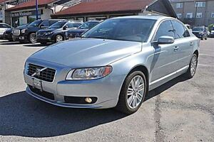 2009 Volvo S80 T6, AWD, LEATHER, SUNROOF