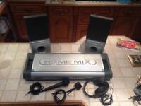Home Mix dual CD mixing desk