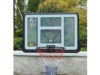 Basketball Backboard - New Assembled for a Photo Shoot
