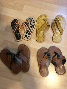 Kids shoes, slippers and sandals (Converse and Geox)