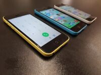 iPhone 5C GLOBALLY UNLOCKED 16GB ACCESSORIES SHOP WARRANTIED