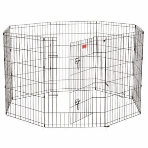 Lucky Dog ZW 11636 Exercise Pen with Stakes, 36-Inch, Black *NEW