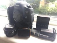 Canon 5D Mark III + 40mm 2.8 + battery grip