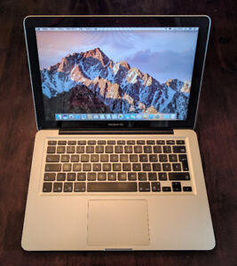 Apple MacBook Pro 13po 2010 8go RAM SSD 128go parfaite condition