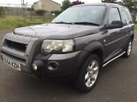 Land Rover freelander xei 54reg low miles only 70k facelift model 4wd,may px?