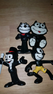 Felix the cat collectable vintage figures