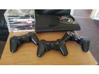 Ps3(3 controllers/9 games