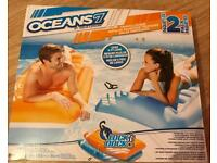 Pool sun loungers x2 swimming Inflatable