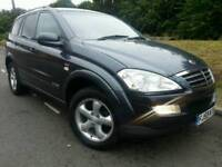 SSANGYONG KYRON 270 SPORT 2.7 CDI*2009 59*NEW SHAPE*MINT COND*LEATHERS*EL-PACK*#SUV#JEEP#MERCEDES ML