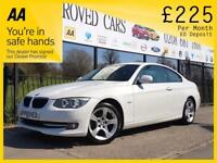 BMW 3 SERIES 2.0 320D SE 2d AUTO 181 BHP Need a Car? Can't Get (white) 2011