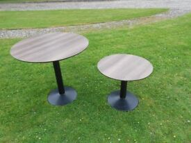 2 Heavy Round Tables