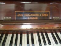 john broad wood of london piano model number 102086 tuned