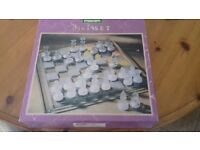 chess set ( 3 in 1 ) games backgammon/ draughts + dice