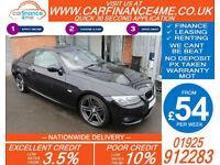 2011 BMW 320i 2.0 M-SPORT GOOD / BAD CREDIT CAR FINANCE AVAILABLE