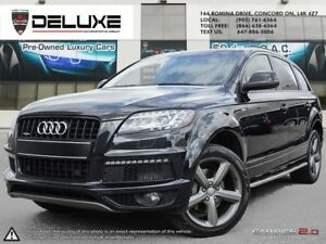 2014 Audi Q7 TDI Progressiv TDI NAVIGATION  S-LINE $150.72 WE...