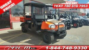 2012 Kubota RTV 1140 CPX GREAT 4X4 DIESEL WORK HORSE!!