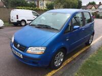 2005 Fiat Idea Immaculate MOT. TAX. 1 Owner Warranty