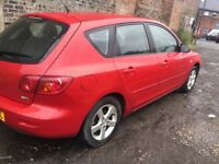 MAZDA 3 2005 FULL YEAR MOT EXCELLENT CONDITION.