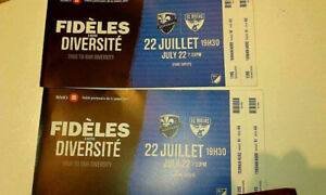 2 tickets for tomorrow for  M Impact vs FC Dallars GOOD SEATS!!!