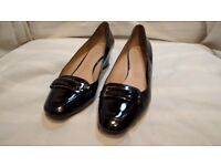 Black Footglove Wider fit Leather Shoes size 6