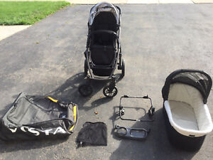 Uppababy Vista 2013 with accessories