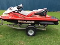Four stroke Seadoo GTX jet ski Jetski Pwc three seater jet bike