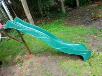 Wavy plastic slide