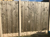Fence panels and gravel boards for sale