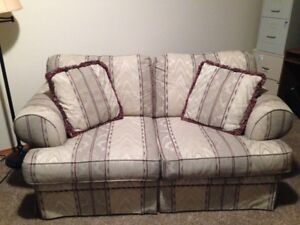 Fabric Couch & Love Seat