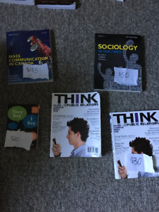 Sociology and Communications Textbooks for RDC - Want gone!!!