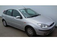 FORD FOCUS 2002 52 PLATE 12 MONTHS MOT DRIVES GREAT TEL 07537832159