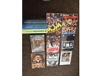 Various Wrestling DVDs including box sets