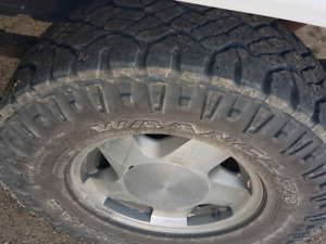 265/75r16 duratracs with rims
