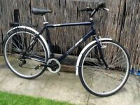 MENS AMMACO HIGH RIDE HYBRID BIKE IDEAL FOR 6FT & OVER