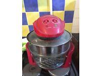 Andrew James Red Halogen Oven