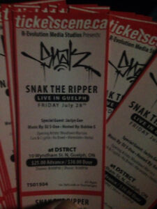 Snak The Ripper - Guelph, London & Hamilton