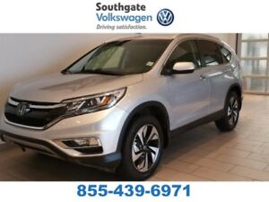 2016 Honda CR-V Touring | Leather | NAV | Sunroof