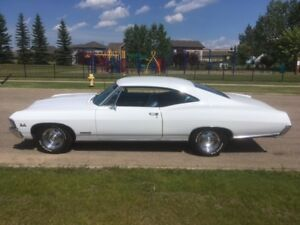 """RARE!"" '67 Impala 396 SS factory A/C / Power Windows!"