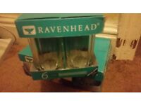 Ravenhead Glasses Six Pack. Brand new never been used.
