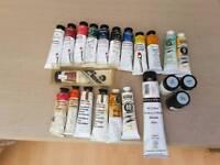 Pro oil paints